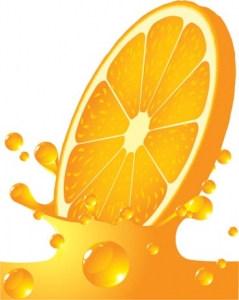 Lemon vector template