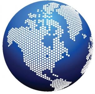 Globe vector design