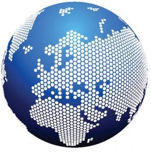 Globe vector layout