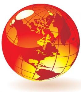 Globe vector model