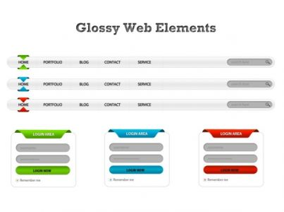 Glossy-web-elements-for-Photoshop2