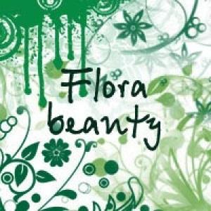 Flora beauty Photoshop brush