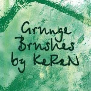Grunge Photoshop brush
