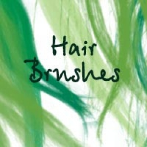 Hair Photoshop brush
