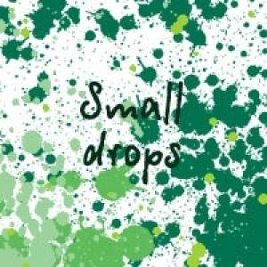 Small drops Photoshop brush