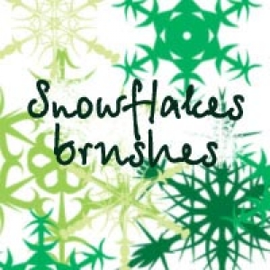 Snowflake Photoshop brush