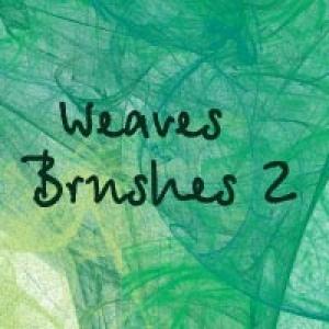 Weaves Photoshop brush