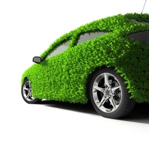 Green cars image