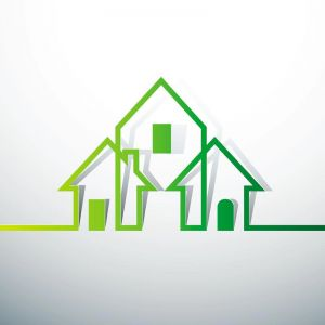 house vector concept logo
