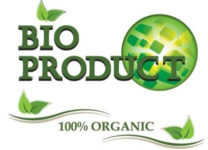 Bio product label design