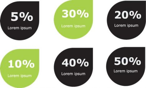 green-infographics-charts-vector2