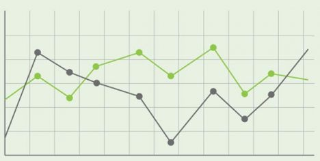 green-infographics-charts-vector7