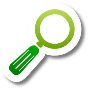 Green tags with shadow vector icons
