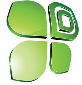 Green vector logo