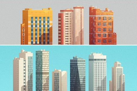 grouped-downtown-buildings-vector-illustration3