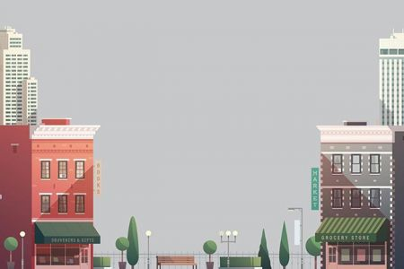 grouped-downtown-buildings-vector-illustration5