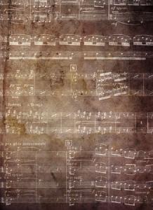 Grunge music texture