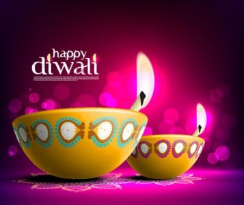 Happy Diwali vector backgrounds