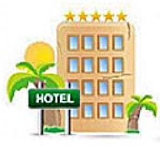 Transparent hotel icon