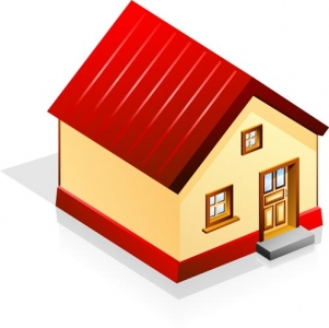 House vector template