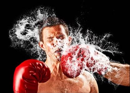 Hydro explosion photoshop brush