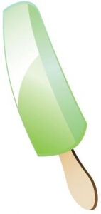 Ice cream vector layout