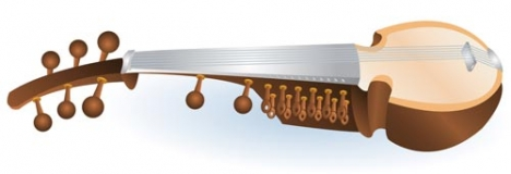 Indian music instrument