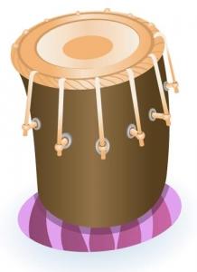 Indian music instrument