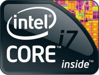 Intel CPU icons vector