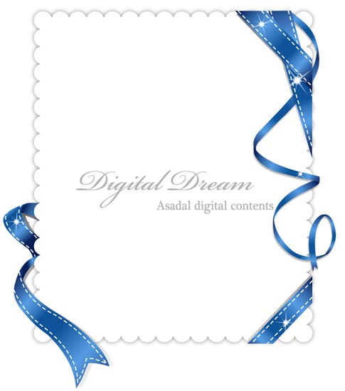 Invitation cards design with ribbons invitation card vector stopboris Gallery