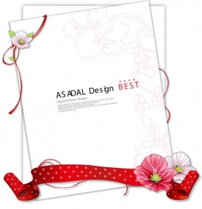 Invitation card layout