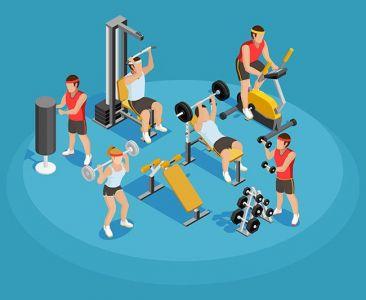 Gym Isometric Template,Gym Isometric Template