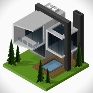 isometric-house-vector-template5