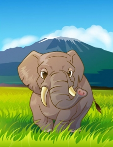 Jungle animal clipart
