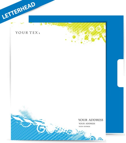 Letterhead and envelope vectors letterhead vector model spiritdancerdesigns