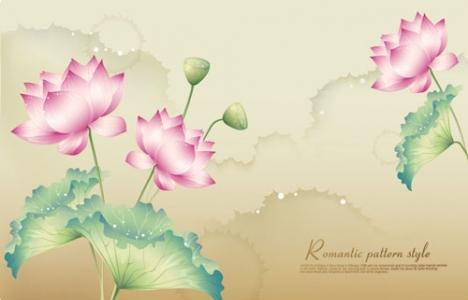 Lotus vector banner