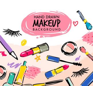 make-up-cosmetics-and-utensils-vector1