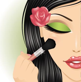 makeup vectors design