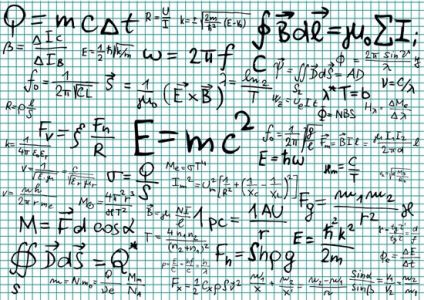 Mathematical formulas vectors for projects