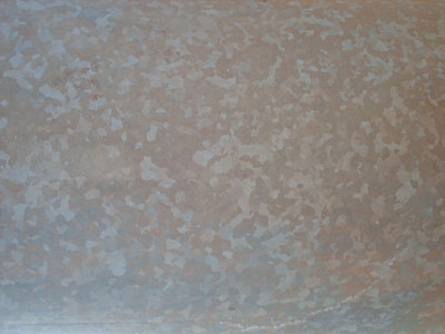 Metal texture template