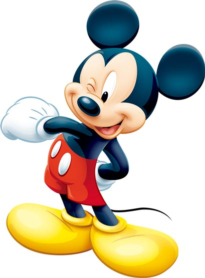 Mickey mouse in photoshop format mickey mouse cartoon character vector pronofoot35fo Image collections
