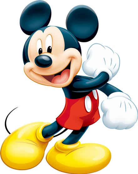 Mickey Mouse In Photoshop Format
