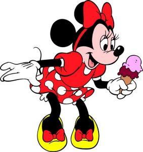 Minnie Mouse vector cartoons