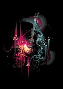Music party vectors