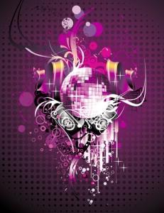Music party vectors