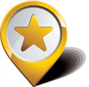 Navigation vector icons