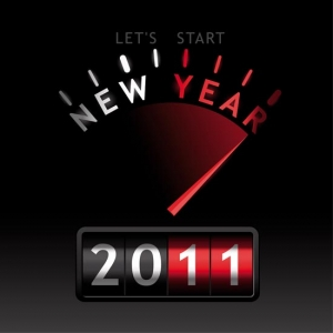 New year 2011 template