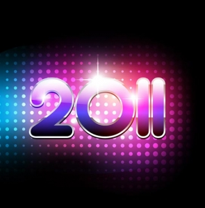 New year 2011 design
