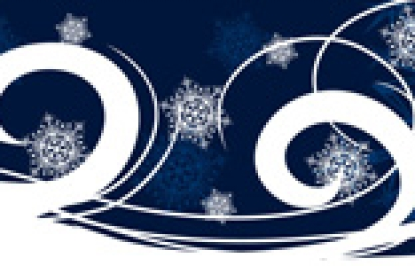 New Years banner design