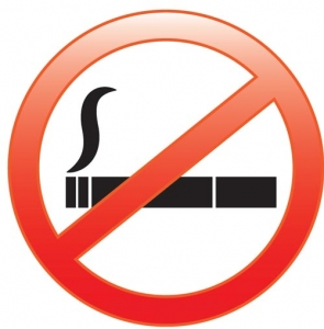 No smoking symbol vector
